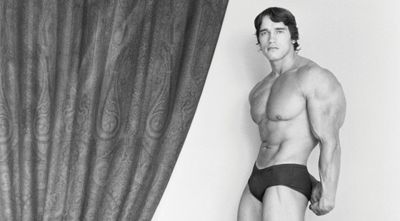 Arnold Schwarzenegger, 1976. © Robert Mapplethorpe Foundation
