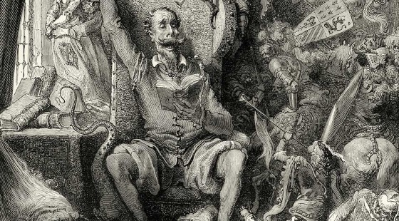 Don QUijote Cervantes Gustave Doré