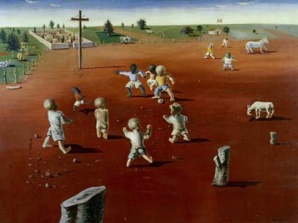 Candido Portinari. Futebol, 1935. Colección Fadel