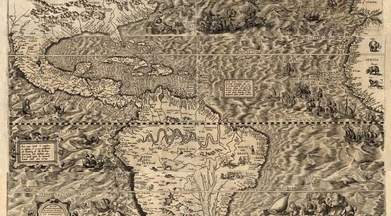 Diego Gutierrez Mapa América