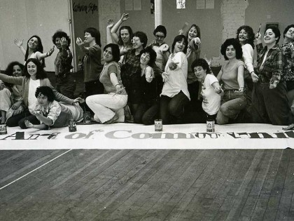 Exposición de fin de curso del programa Feminist Studio Workshop en el Womans Building, Los Angeles, 1979.