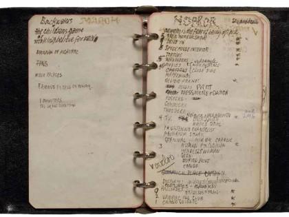 Diane Arbus. Notebook 7 (1961), pp. 2–3.