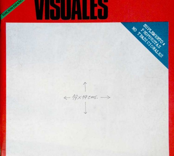 Revista Artes Visuales