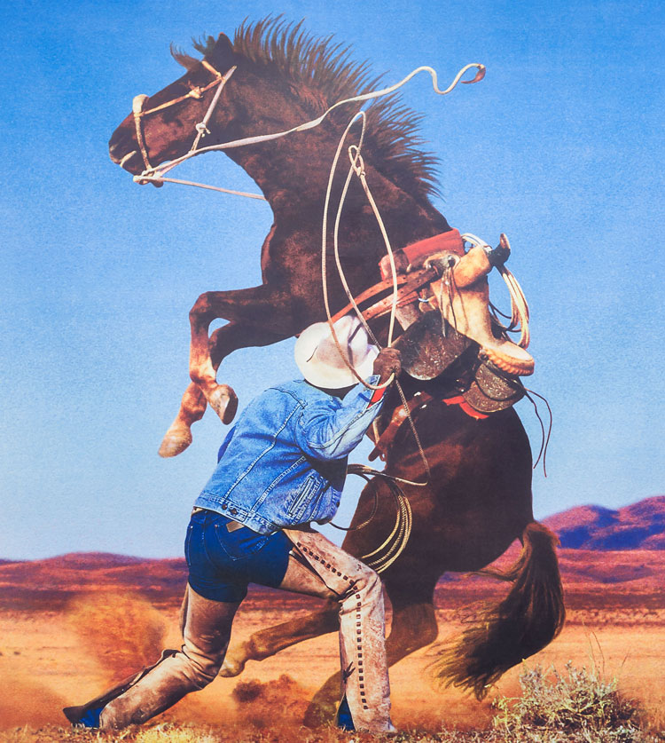 Richard Prince. Untitled (Cowboy), 1999.