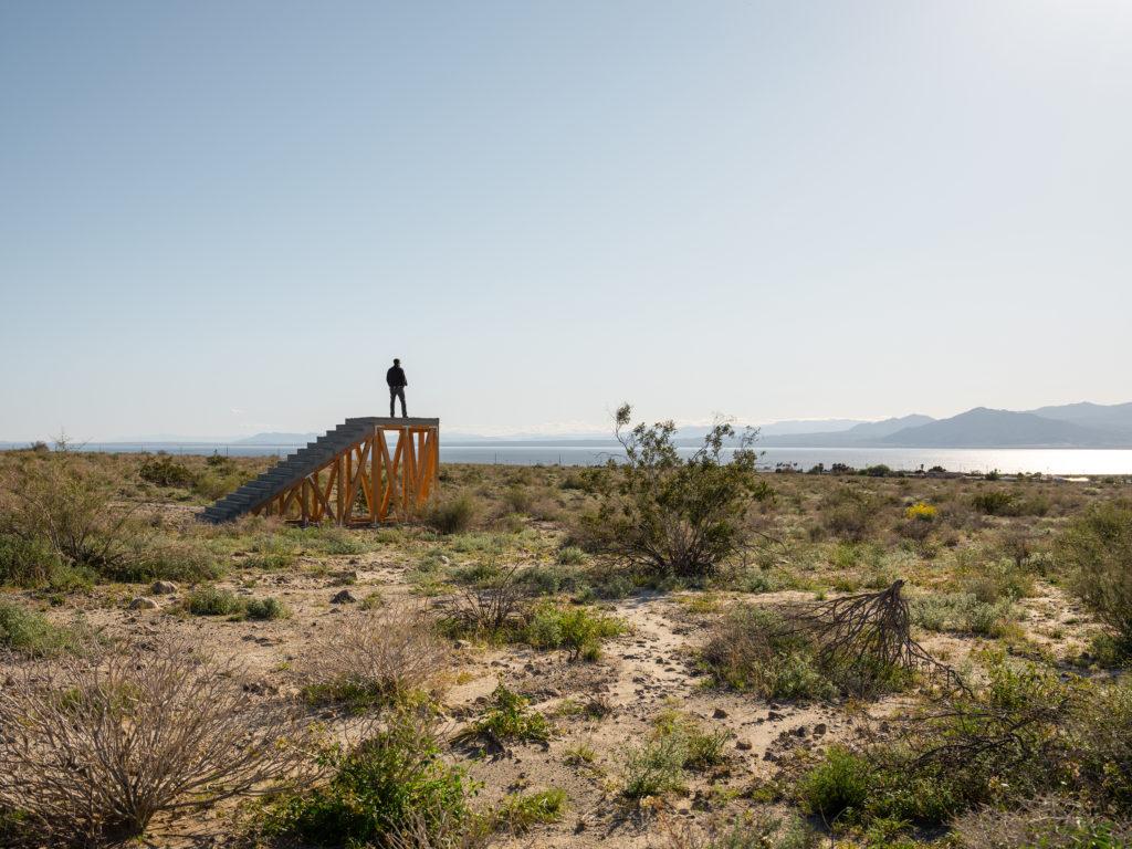 Iván Argote. A point of view, Desert X, 2019. Foto: Lance Berger.